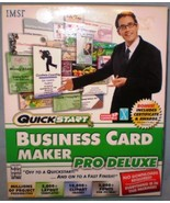 QuickStart Business Card Maker Pro Deluxe - $20.00