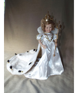 Shirley Temple Little Princess Porcelain Doll; Elke Hutchens; Danbury Mi... - $50.00