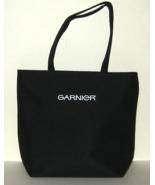 Garnier Large Lined Fabric Shopping Tote Bag w Snap Close - $7.00
