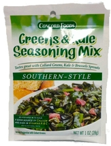 Concord GREENS & KALE SEASONING MIX-case of 18 - $29.99