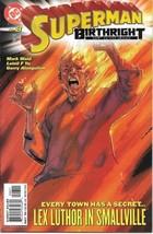 Superman Birthright Comic Book #8 DC Comics 2004 NEAR MINT NEW UNREAD - $3.50
