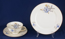 Rosenthal Aida Trio Cup & Saucer Salad or Lunch Plate Handpainted - $12.00