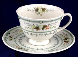 Royal Doulton Provencal Cup and Saucer Unused China TC1034 - $7.99
