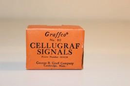 24 lt. green no. 80 Graffco Cellugraf Signals 5... - $9.77