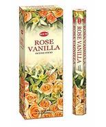 ABN Fashion Hem Rose vainilla Sticks Incense Natural Fragrance Hand Roll... - $18.45