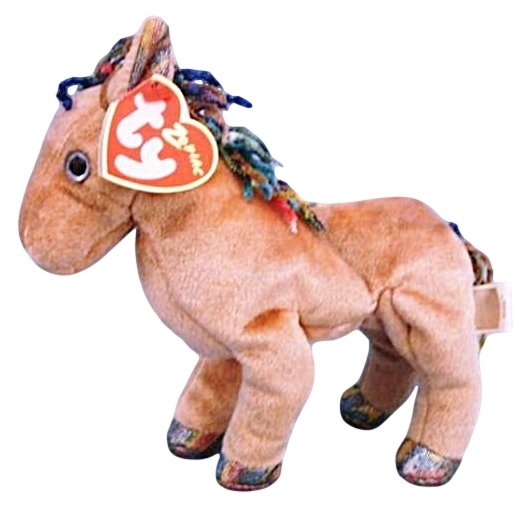 Ty Zodiac Collection Horse Beanie Baby Beanbag Plush
