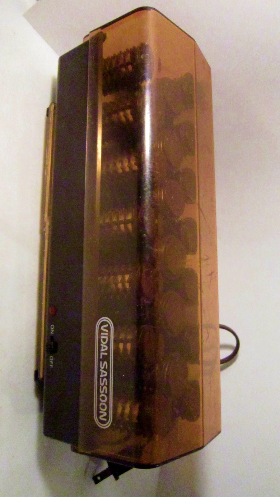 Vidal sassoon hairsetter vintage hot rollers hair curler set 01