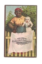 Vintage Black Americana A & P Advertising Trade Card - $12.99