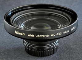 Nikon Wide Converter WC E63 0.63x Wide Angle Lens 4 Coolpix Digital Came... - $36.00