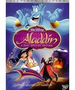 Aladdin DVD-2 Disc Set- Special Edition- Brand New W Slip Cover Fast Shi... - $9.94