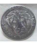 LION HEAD FIRST COIN OF CONGO 10 FRANC 1965 UNC - $18.99