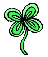 Four Leaf Clover3-Digital Download-ClipArt-ArtC... - $3.00