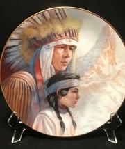 <><  1987  collector plate Arapaho Nation Perillol Vague Shadows never d... - $8.32