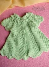 W914 Crochet PATTERN ONLY Sweetpea Ripple Baby Dress Pattern - $9.50