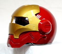 Masei 610 Atomic Motorcycle Helmet Red M L XL image 1
