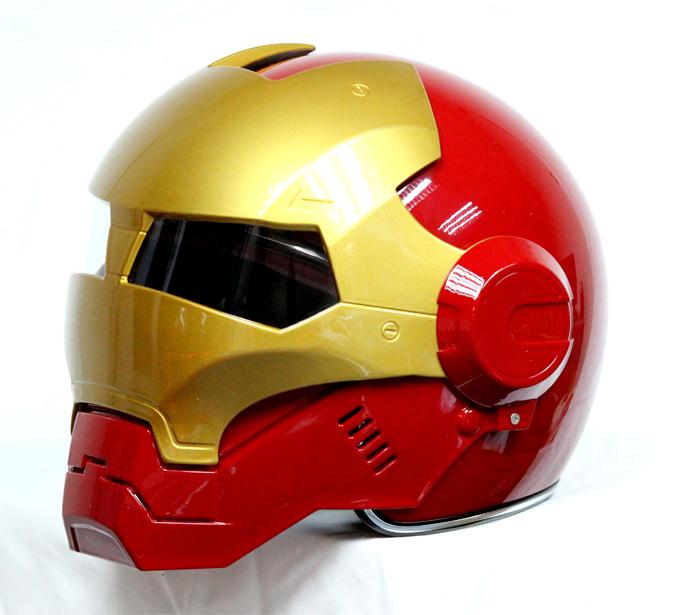 Masei 610 Atomic Motorcycle Helmet Red M L XL image 3