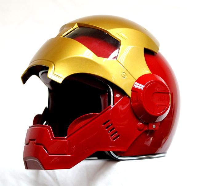 Masei 610 Atomic Motorcycle Helmet Red M L XL
