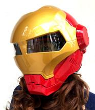 Masei 610 Atomic Motorcycle Helmet Red M L XL image 6