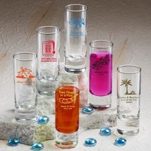 100 Personalized 2 oz Ounce Shooters Shot Glasses Wedding Party Shooter ... - $187.98