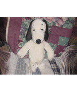 """19"""" Snoopy Plush Toy 1968 United Feature Syndicate Rare - $56.09"""