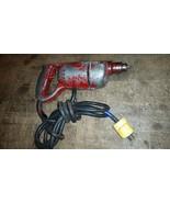 Van Dorn? Electric D handle Drill Vintage Antique #2 - $54.45