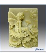 Season fairy - Autumn fairy silicone Soap Mold - $28.00