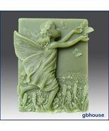Silicone Soap Mold – Adelaide- Fairy of the Meadows - $28.00