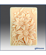 Silicone Soap Mold 2D Flower Power - $26.00