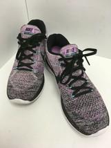 Nike Flyknit Lunar 3 Fuscia Glow Purple Haze Running Shoes Women's Size ... - $37.39