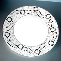 Wedgwood Jasper Conran 'Embroidered' Dinner Plate Made in UK New - $22.90
