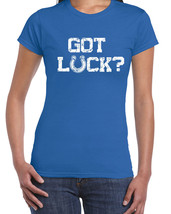 119 Got Luck women's T-Shirt football colts qb indiana pride  All Sizes/ Colors - $15.00