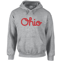 142 Ohio Script Hoodie Ohio Pride college spirit sports chher fan Sizes/... - $30.00
