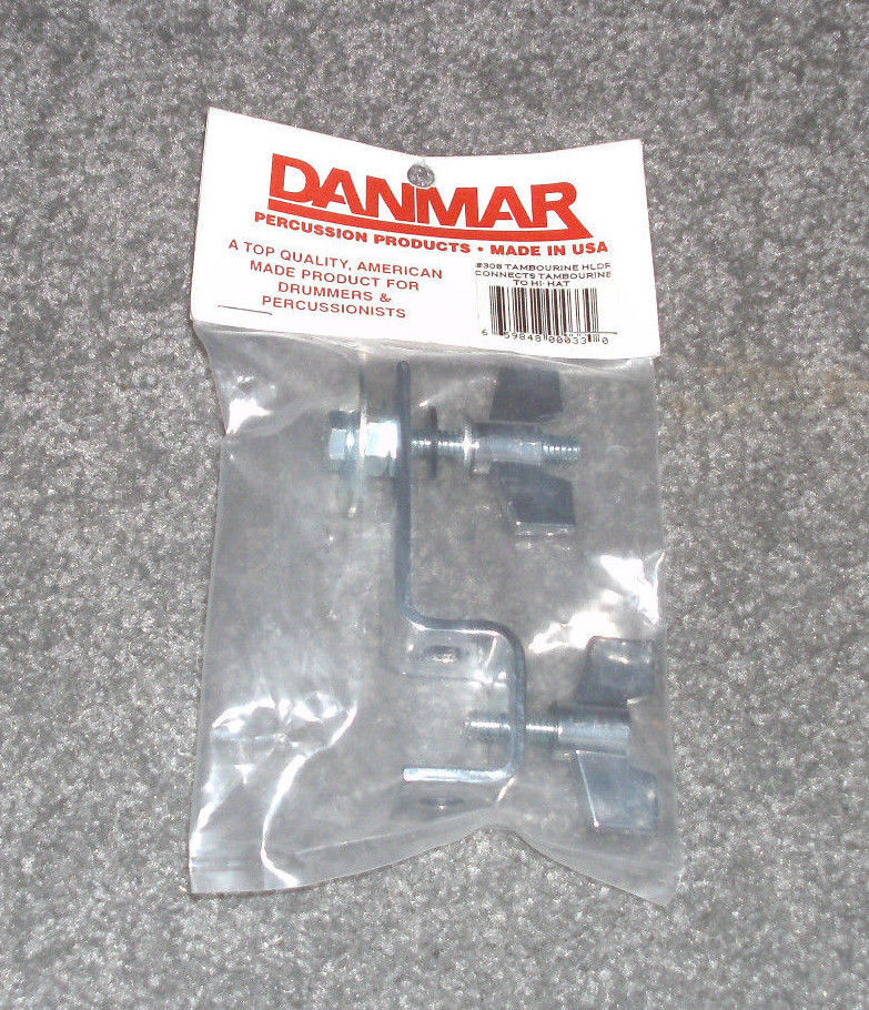 Danmar Tambourine to Hi-Hat Holder Percussion Drum Hardware Model 308 New