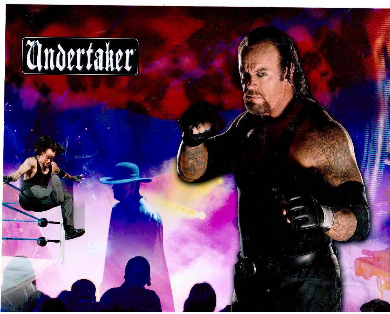Primary image for Undertaker PF Vintage 8X10 Color Wrestling Memorabilia Photo