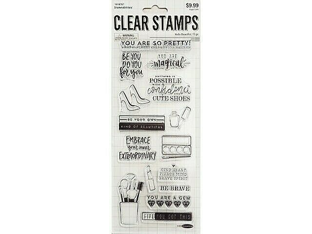 Stampabilities Hello Beautiful Clear Stamp Set #1614767