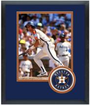 Craig Biggio Houston Astros Circa 1998 - 11x14 Team Logo Matted/Framed P... - $43.55