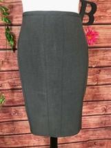 Worthington Skirt size 12 Gray Straight Pencil Knee Classic Career Profe... - $19.97