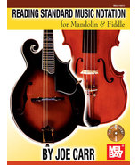 Reading Standard Music Notation For Mandolin And Fiddle Book/CD Set - $13.99