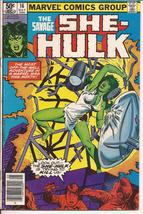 Marvel The Savage She-Hulk #16 Action Adventure - $1.95