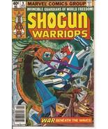 Marvel Shogun Warriors #9 War Beneath The Waves Action Adventure - $1.25