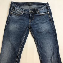 Silver Jeans Pioneer Flap Pocket Medium Blue Wash Jeans Size W27/L35 - $37.95