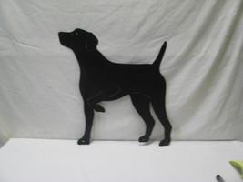 Gun Dog 2 Metal Yard Art Dog Silhouette - $70.00