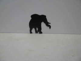 Elephant 3 ST P Shadow Metal Art Silhouette - $60.00