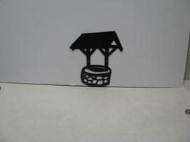 Wishing Well 001 Metal Wall Yard Art Silhouette - $80.00