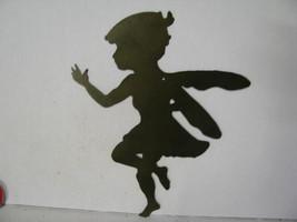 Fairy A Metal Wall Yard Art Silhouette - $42.00