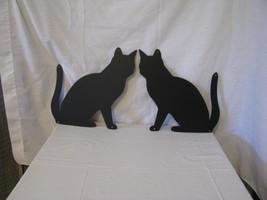 Cat  3 Metal Wall Art Silhouette Set of (2) - $32.00