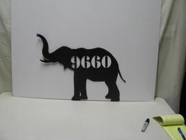 Elephant 17 Metal Animal Wall Yard Lawn Art Sil... - $62.00