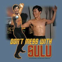 Star Trek Classic TV Don't Mess With Sulu T-Shirt, George Takei Size 3X NEW - $19.34