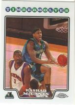 Rashad McCants Topps Chrome 08-09 #49 Refractor Minnesota Timberwolves L... - $1.00