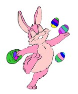 Easter Bunny04-Digital Download-ClipArt-ArtClip... - $3.00
